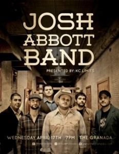 Josh Abbott Band @ The Granada | Lawrence | Kansas | United States