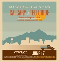 Mumford and Sons @ Cricket Wireless | Bonner Springs | Kansas | United States