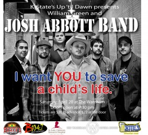 Josh Abbott  @ The Wareham | Manhattan | Kansas | United States