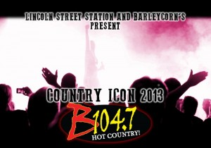 B104.7 Country Icon @ Barleycorn's Downtown Deli | Wamego | Kansas | United States