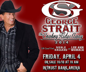 "George Strait ""The Cowboy Rides Away"" @ Intrust Bank Arena 