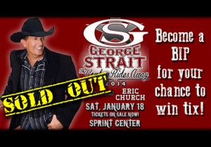 "George Strait ""The Cowboy Rides Away"" @ The Sprint Center 
