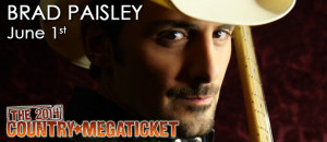 Brad Paisley with Randy Houser @ Cricket Wireless Amphitheater | Bonner Springs | Kansas | United States
