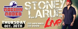 Stoney LaRue @ Rockin Rodeo | Manhattan | Kansas | United States
