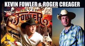 Cancelled: Kevin Fowler & Roger Creager w/ Ricky Fugitt @ The Wareham | Manhattan | Kansas | United States