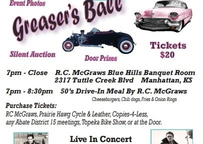 Greasers Ball