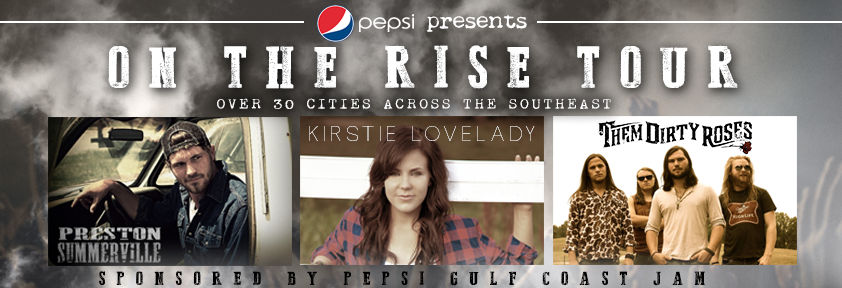 Pepsi On The Rise Tour Banner