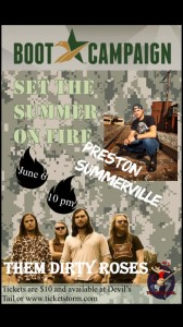 """Set The Summer on Fire"" Tour @ Devil's Tail 
