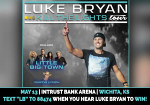 Luke Bryan @ Intrust Bank Arena @ Intrust Bank Arena | Wichita | Kansas | United States