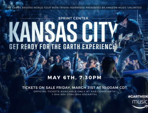 Garth Returns to Kansas City May 6