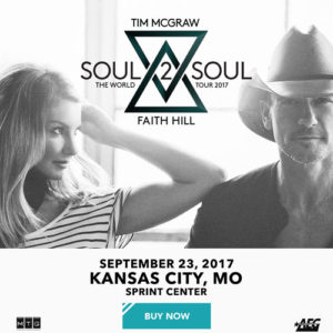 Soul2Soul World Tour with Tim McGraw and Faith Hill @ Sprint Center | Kansas City | Missouri | United States