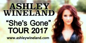 Ashley Wineland She's Gone Tour 2017 @ The Wareham Opera House | Manhattan | Kansas | United States