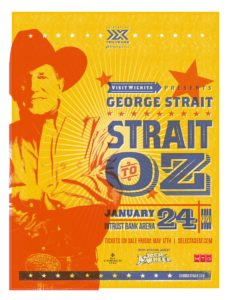 George Strait: Strait to Oz (Feat. Asleep at the Wheel) @ Intrust Bank Arena
