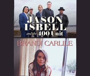 Jason Isbell and the 400 Unit/Brandi Carlile @ Providence Medical Center Amphitheater