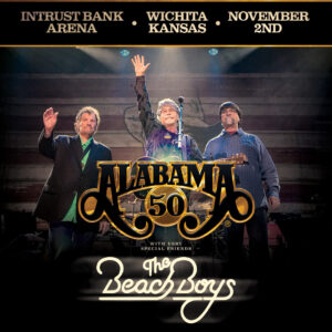 Alabama: 50th Anniversary Tour W/Special Guests The Beach Boys @ Intrust Bank Arena