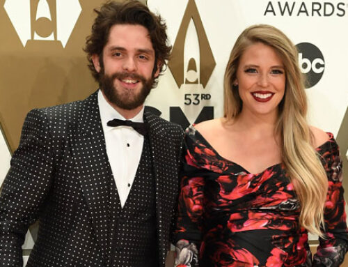 Thomas Rhett rings in 30th birthday with champagne antics