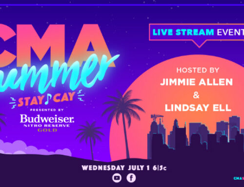 "Lindsay Ell pours ""Two Pina Coladas"" for 'CMA Summer Stay-Cay,' as she hosts online special with Jimmie Allen"