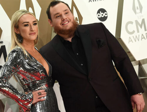 "Luke Combs shares another photo from his wedding: ""Still seems like a fairytale"""