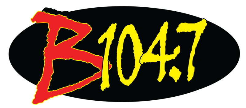 B104.7 THE Country Station Logo