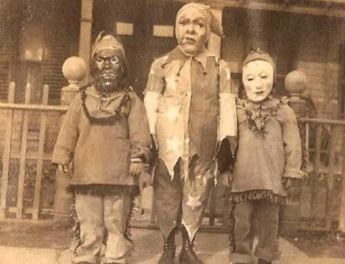 Vintage costume video will haunt your nightmares…and your waking hours